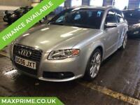 AUDI A4 4.2 V8 S4 QUATTRO ESTATE AUTOMATIC 340 BHP JUST SERVICED AT AUDI DEALER