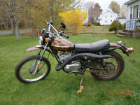 Harley Davidson sx250 street and trail 2 stroke