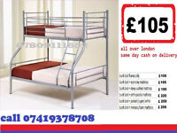Tara NEW TRIO SLEEPER BUNK BED WITH MATTRESS
