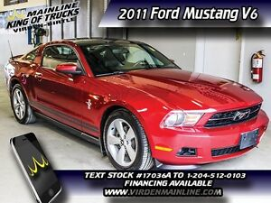 2011 Ford Mustang V6   - $175.10 B/W