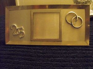 25th ANNIVERSAY PICTURE FRAME