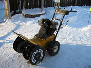 8hp Canadian Dual Stage Heavy Duty Snowblower