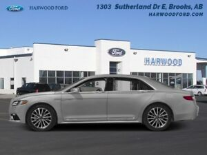 2017 Lincoln Continental Reserve  - Navigation - $349.82 B/W