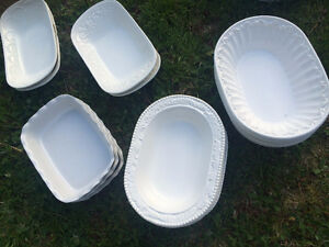 Made in Italy Casserole Dishes Vintage Looking