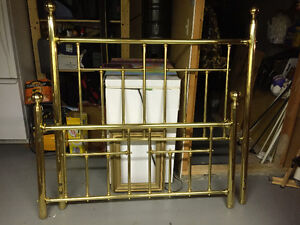 Brass Bed (Double) – Headboard and Footboard