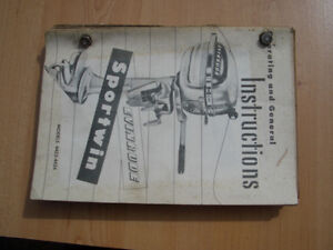 Outboard Motor Manual Collection