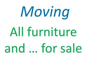 This weekend - All Furniture for sale