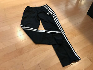 Women's small Adidas track pants