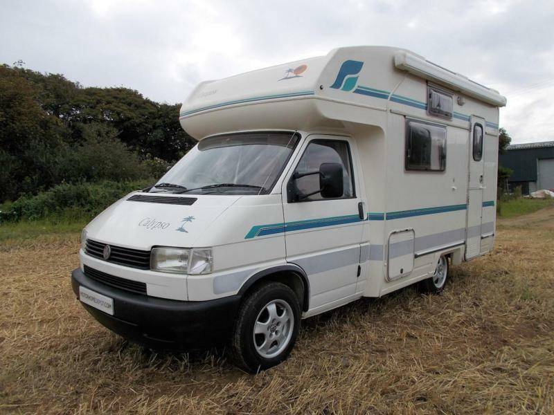 compass calypso vw t4 2 4 diesel great 2 berth motorhome. Black Bedroom Furniture Sets. Home Design Ideas
