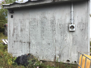 10x12 shed wired