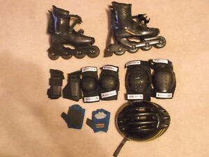 roller blades and all equipment