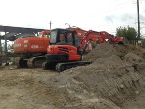 Demolition & Excavation Services for Rent