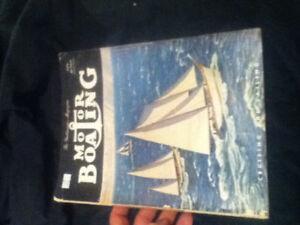 Vieille revue de bateau