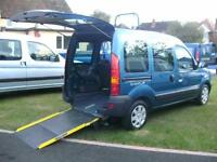 2006 Renault Kangoo Wheelchair Disabled Accessible Vehicle