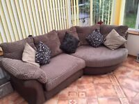 3 to 4 Seater Settee and Foot Stool