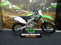 Kawasaki KXF 450 Motocross bike very clean example must see