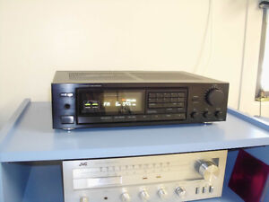 ONKYO RECEIVER, 130 WATT SPEAKERS AND TURNTABLE