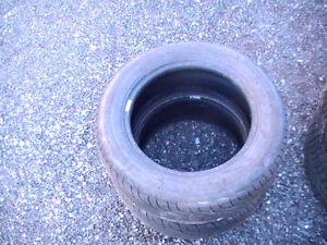 2 paires de pneus d'été 15 pouces + 1 paire pneus d'hiver