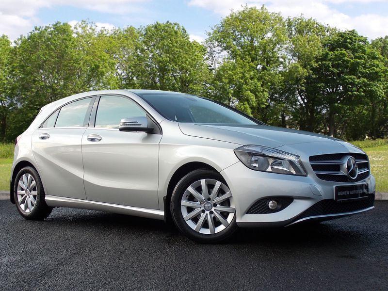 Mercedes-Benz A CLASS 1.5 A180 CDI ECO SE 5dr (silver) 2014