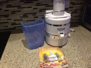 Power juicer never used