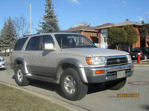 1997 Toyota 4Runner LTD SUV- IN GREAT CONDITION