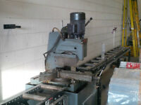 COLD SAW AND STANDS