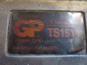 GP General Pump T Series TS1511 Pressure Washer Pump