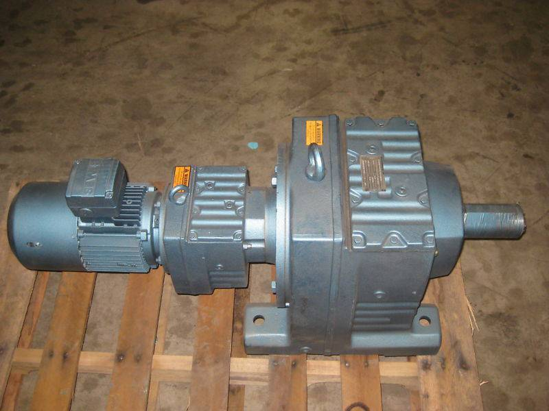 Sew Eurodrive R107R77D 2 HP Ratio:369 Gear Reducer NEW