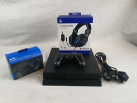Playstation 4 Bundle with Headset and Extra Controller