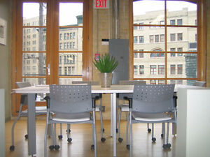 Fully Furnished Loft Office in East Exchange -Available Sept 1