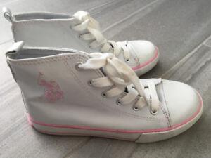 Gorgeous Polo Hightop Sneakers - Size 2
