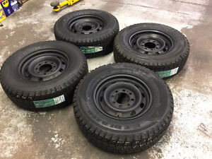 "17"" Steel Wheels 8x6.5  & Winter Tires LT265/70R17 (Ram 2500)"