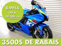 2015 Suzuki GSX-R600 GSXR 600 - 41,87$/SEM 3500$ DE RABAIS
