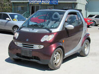 2006 Smart Fortwo Passion Coupe, Diesel, Convertible, 95 KM !!!