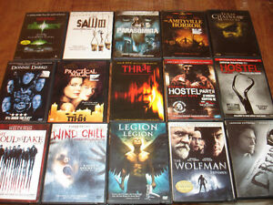 15 Horror DVDs for $10