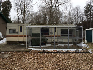 Terry Taurus 3000CL Travel trailer with sunroom