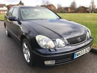 LEXUS GS 430 (2003) RARE 4.3 V8 SMOOTH POWERFUL MODEL