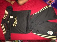 Liverpool football clothing for boys, age 7 to 11