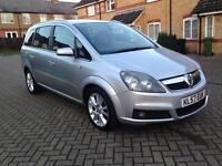 2007 Vauxhall Zafira 1.9 CDTi 16v Design 5dr