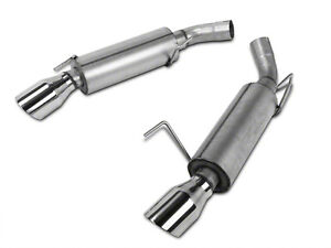 MBRP Street Series Axle-back Exhaust 11-14 Mustang