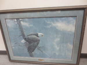 The Air, The Forest & The Watch - Robert Bateman