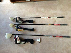 Left Handed Taylormade clubs (R11 Driver and 5wood) (RBZ 3wood)
