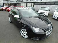 2013 Seat Ibiza 1.4 1SE - Black - 12 MONTHS PLATINUM WARRANTY!