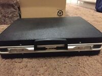 Vintage Echolac hardshell briefcase with key