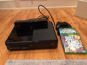 Xbox One with Kinect, Controllers and Games