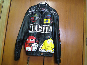 Vintage Collectable Jeff Hamilton Design Leather Jacket 2XL