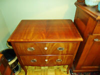 ANTIQUE SMALL CHEST of DRAWERS, BEUREAU