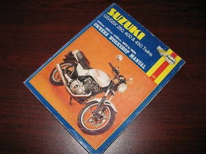 Manuel d'atelier Suzuki GS / GSX 250 400 & 450 Twins Shop Manual