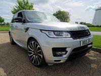 2013 Land Rover Range Rover Sport Sdv6 Hse Dynamic Diesel silver Automatic