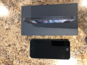 F.S. iphone 5, 64g with two cases.